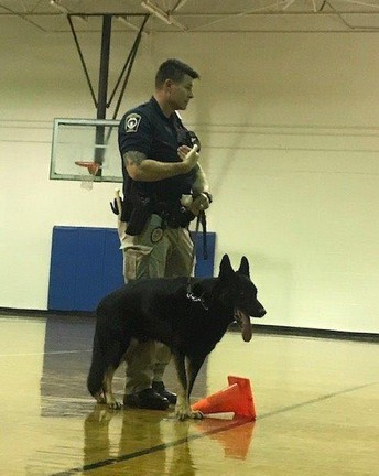 Officer Surowiec Service Dog Demo