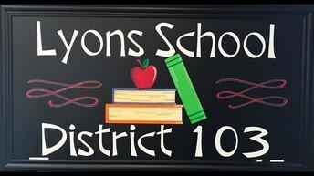 Lyons 103 Calendar, 2020-2021/ Calendario escolar de Lyons 103, 2020-2021