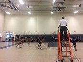 Girls' Volleyball vs. the Imagine Charter School