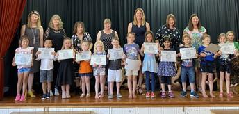 Taranaki (Junior) Vogeltowner award recipients