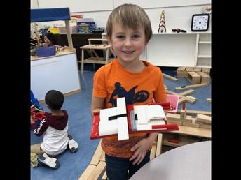 Lego building in Kindergarten!