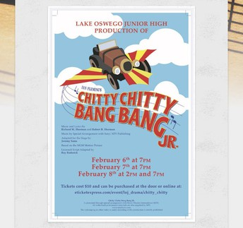 LOJ Musical: Chitty Chitty Bang Bang Jr.