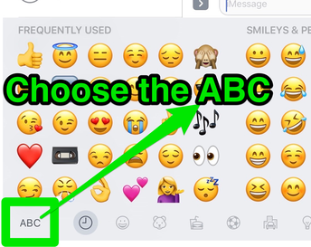 Choose the ABC