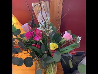 Flowers for Colrain Central School / District Leader Nurse Donna Weber