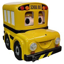 Buster the Bus will visit Oakley Park on October 30th