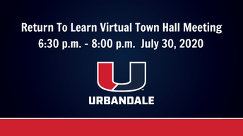 Town Hall Meeting 7/30/20 (virtual)