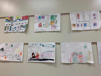 And drew maps of their neighborhood!