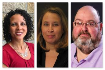 Drs. Rachelle Miller, Donna Wake, and Jeff Whittingham: