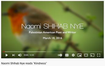 Secondary Poem- Kindness by Naomi Shihab Nye