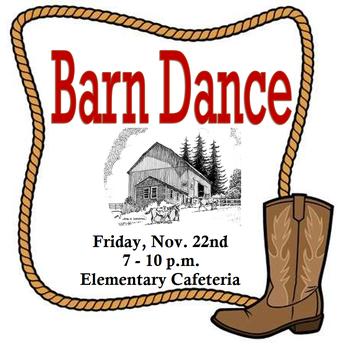 Barnwarming Dance - Nov. 22