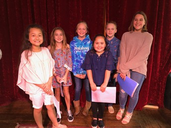 Randolph 4th Graders had their Poetry Slam this week.