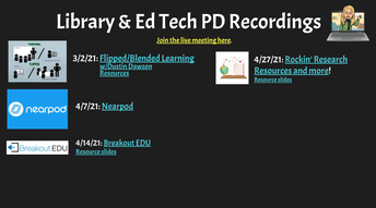 Relax and Learn this Summer with Library Ed Tech at Your Pace
