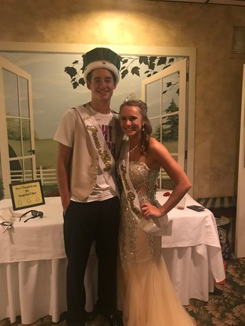 2018 Prom King and Queen
