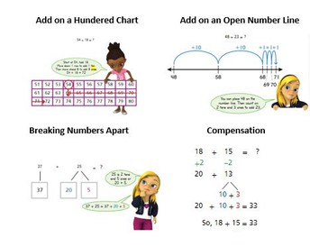 Add Within 100 Using Strategies