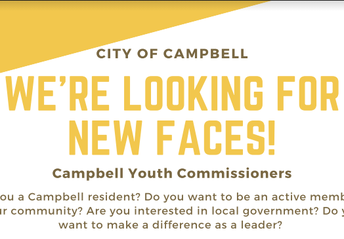 Apply to be a Campbell Youth Commissioner by May 11th