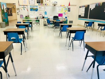 3-5 Socially Distanced Classroom