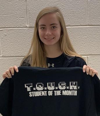 Senior  Megan Kirk