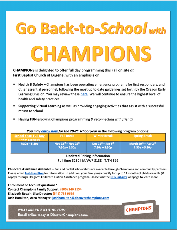 Childcare Scholarships Available