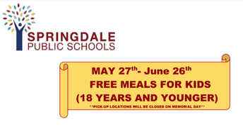 School lunches available this summer!