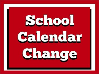 CALENDAR CHANGES for SMSD