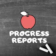 Progress Reports will be Posted Monday