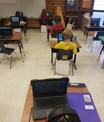New Laptops for Kindergarteners