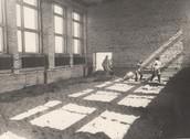 Строительство спортзала,1972 год