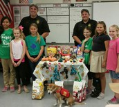 Lee County Sheriff's Office and Girl Scouts