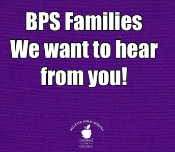 BPS Families - We Want to Hear from You