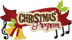 5th grade Christmas Program