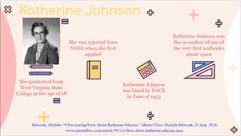 Katherine Johnson - NASA Mathematician