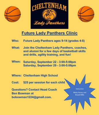 Future Lady Panthers Clinic