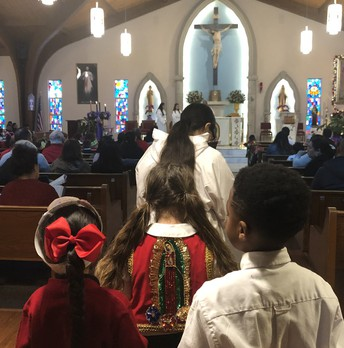 Celebration of Our Lady of Guadalupe!