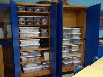 Organized STEM Closets