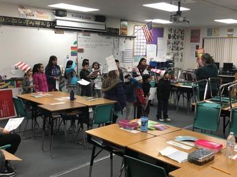 Multi-Lingual Reading in Mrs. Medina's Room