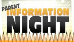7th Grade Parent Information Night