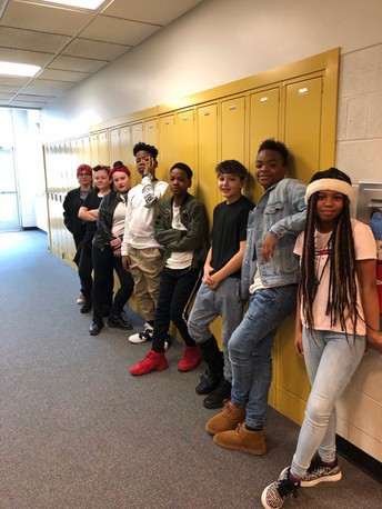 MIDDLE SCHOOL STUDENTS CELEBRATE OUTSIDERS DAY