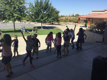 Impromptu Lunch Dance Party!