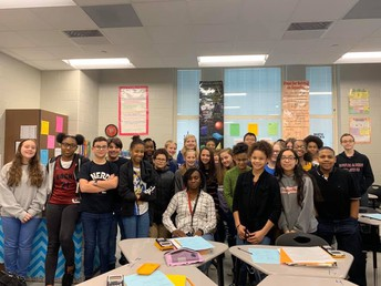 Mrs.Hamlett has always gone above and beyond to ensure her students are always offered every opportunity for success. #lmmsrocks