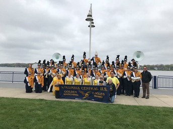 CCHS Marching Band in Holland