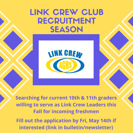 Apply for Link Crew Here