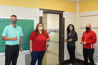 CLARK-RELIANCE PARTNERS WITH SCS FOR CLASSROOM SAFETY