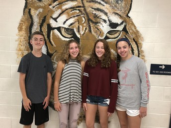 Congratulations to our 2018-2019 National Junior Honors Society Officers