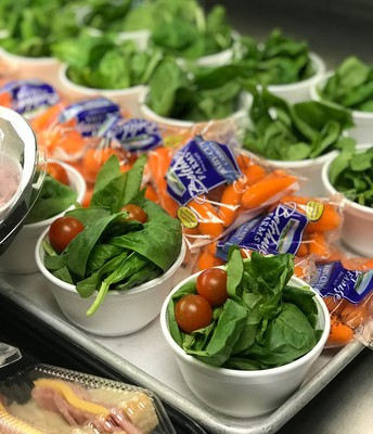 BMS - Cherry tomatoes and spinach