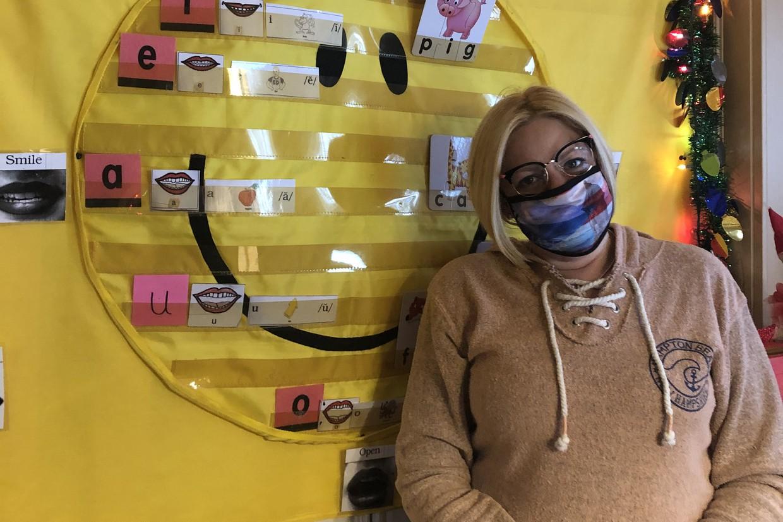 Sullivan staff wearing their mask