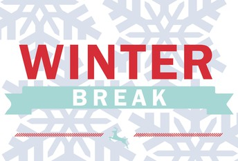 School will be closed from February 15th until February 23rd for winter break. School will resume on Monday, February 24th.