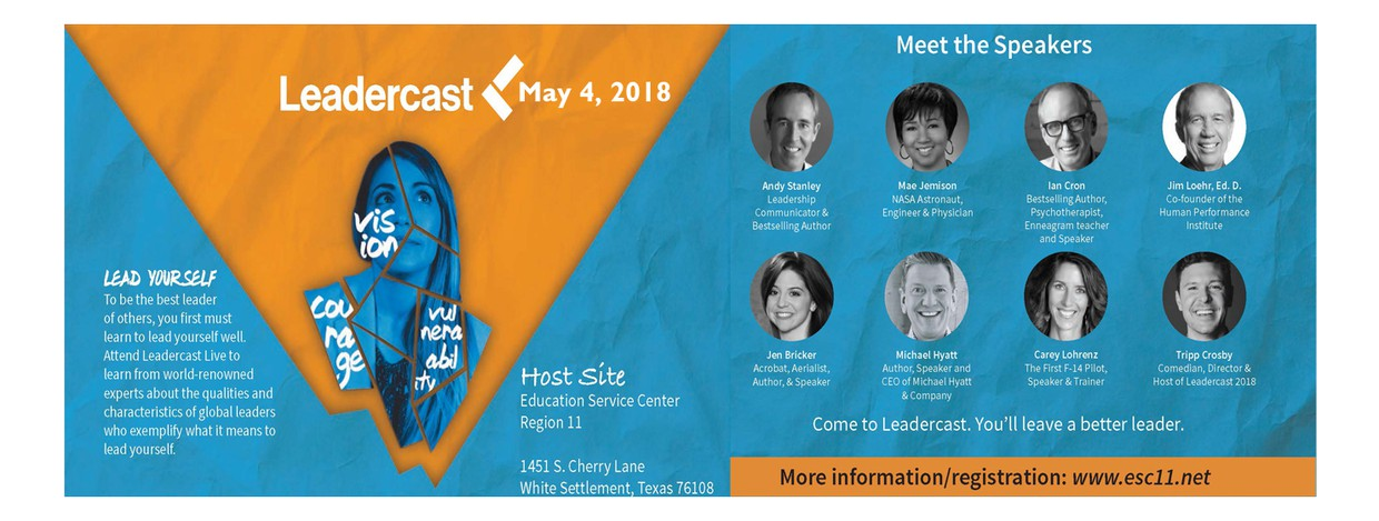 Leadercast - May 4