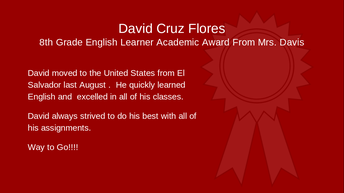 David Cruz Flores