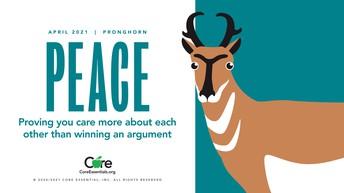 APRIL CORE ESSENTIAL - PEACE