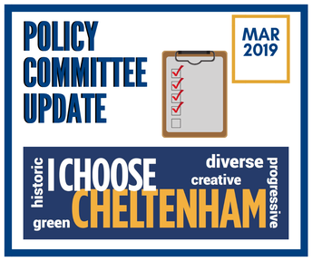 Stay Informed: March Policy Committee Meeting